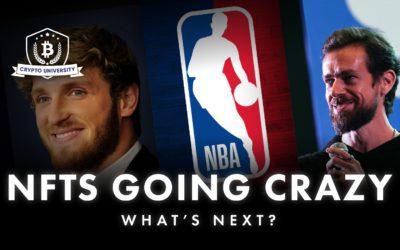 NFT's going CRAZY: Logan Paul, NBA, Jack Dorsey, what's next?